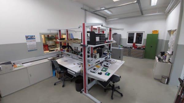 Wiebrock Elektronik Abteilung