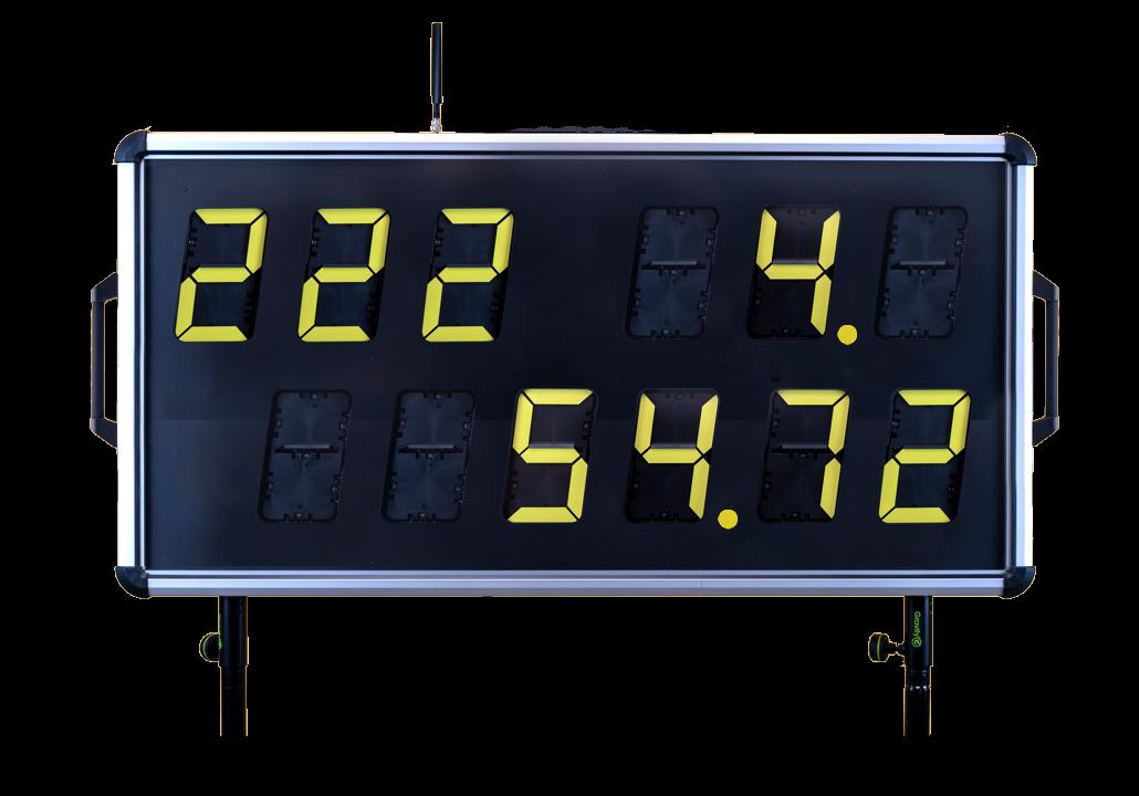 Numerische Anzeigetafel