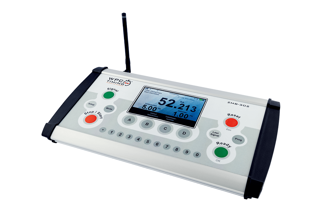 Zeitmess-Bedienpult ZMB-302 Reitsport FEI Zertifiziert