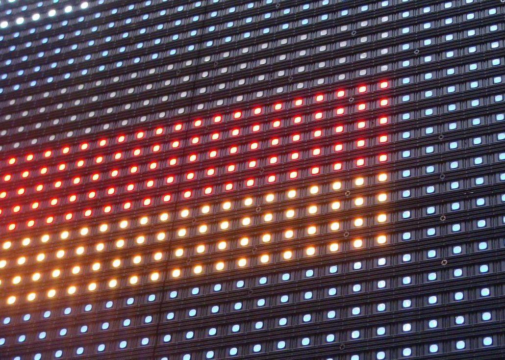 LED-Display Panel Outdoor P4, P6, P10, High Brigthness
